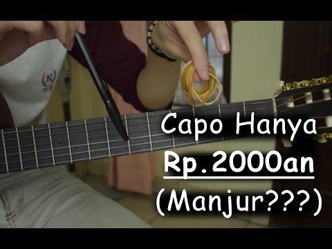 Capo Rp.2000an (DIY Capo Buatan Sendiri)