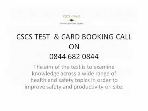 cscs test and cscs card - call now 0844 682 0844 - www.cslinks.co.uk