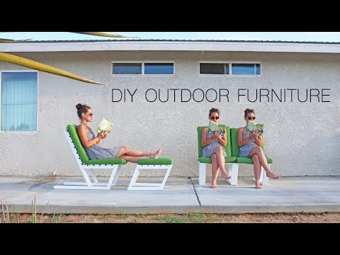 DIY 2x4 Furniture | Modern Outdoor Furniture
