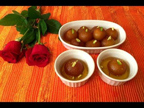 Gulab jamun recipe   Instant gulab jamun recipe   MTR instant gulab jamun recipe