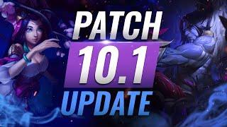 NEW UPDATE: BEST Champions TIER List – League of Legends Patch 10.1