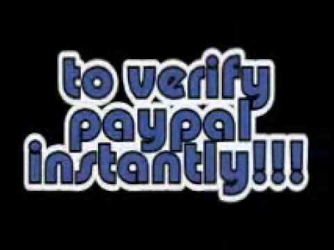 Paypal VCC, Virtual Credit Card and Virtual Bank to Verify Paypal