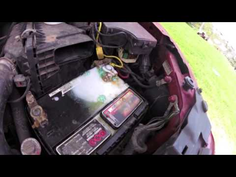 Cleaning Battery Acid From Your Car Battery - Maintenance Tip