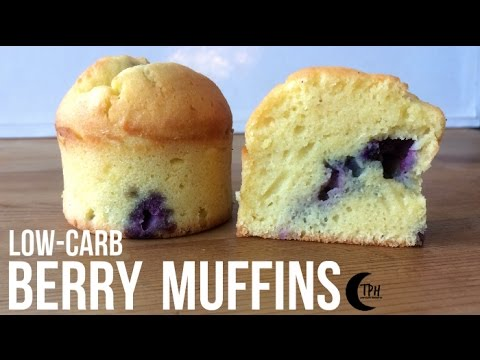 Keto Blueberry Muffins   Low-Carb Berry Breakfast Muffins