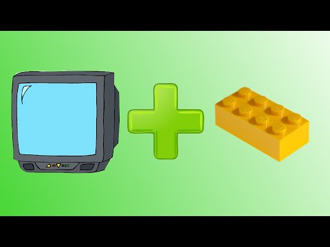 DIY: How to make a working lego tv