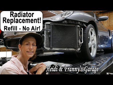 Replace your Radiator - Refill without air pockets! Airlift! (996 Turbo)