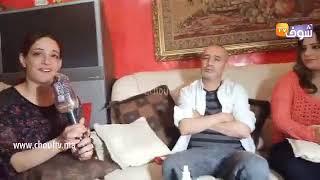 مباشرة مع زوجة الممثل رفيق بوبكر بعد الإفراج عليه..كنطلب مع المغاربة يسمحو ليه على وجه وليداتو