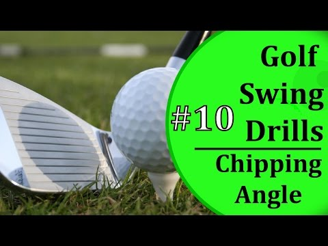 Simple Golf Swing Drills - #10: Chipping Attack Angle | Learn-To-Golf.com