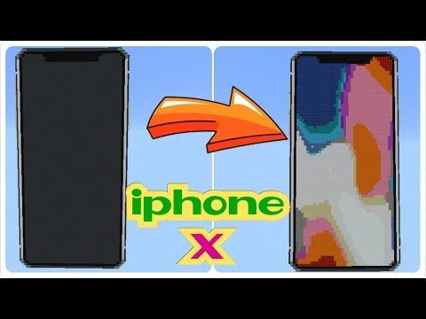 IPHONE X ada di Minecraft PE !!! Kallian wajib punya