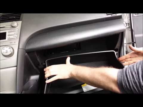 2011 Toyota Camry How to change or replace cabin air filter cleaner DIY Maintenance 2007 - 2011