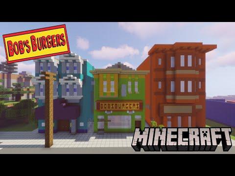 Minecraft: Bob's Burger's Tour!