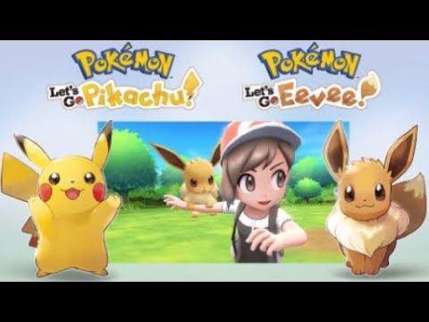 Pokemon Let's Go Pikachu and Let's Go Eevee Confirmed for Nintendo Switch