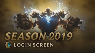 Season 2019 | Login Screen - League of Legends