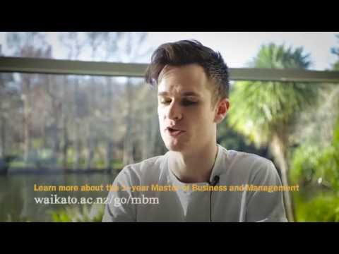 Fast-track your career with a one-year business masters at the University of Waikato (Long version)