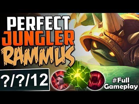 PERFECT JUNGLER RAMMUS | SO POWERFUL | New Runes Rammus Jungle Build | RANKED SEASON 8 Gameplay