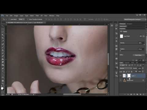 Learn How to Straighten Teeth in Photoshop