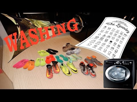 Washing Nike Hypervenom & Superfly 5 football boots for kids Sport Mode