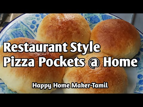 Pizza Bun Recipe in Tamil | How to make pizza bun at home recipe| Eggless Pizza bun|  (#32)