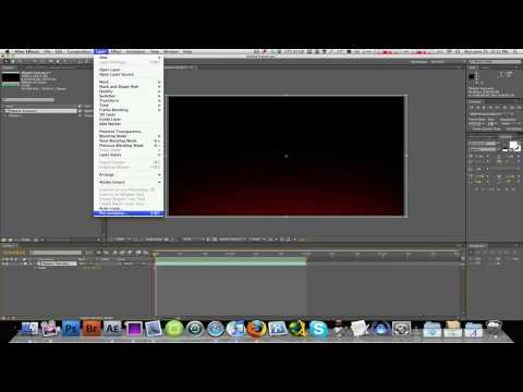 How To Speed Up or Slow Down Video Clips In After Effects CS4