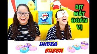 Download KẸO HUBBA BUBBA - THỬ THÁCH BỊT MẮT ĐOÁN VỊ - YẾN NHI NYN KID BỊ TROLL Video