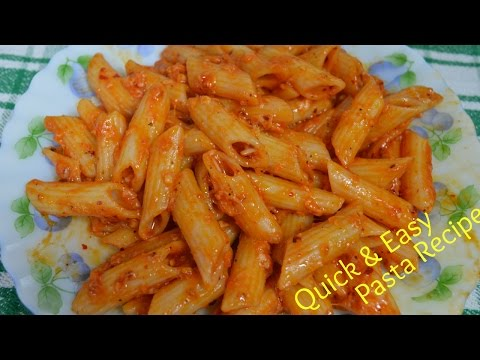 Pasta Recipe | Quick & Easy Indian style Pasta Recipe | Kids Lunch Box