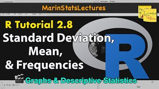 How To Calculate Mean Standard Deviation Frequencies In R Descriptive
