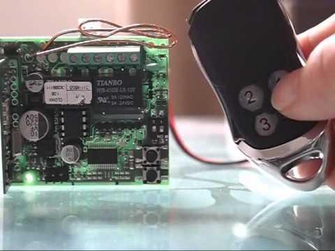 How to program BFT remote to BFT CLONIX receiver