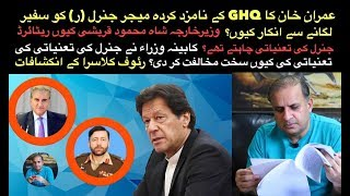 PM Imran Khan refuses to appoint GHQ nominee MajGeneral with dubious credentials as ambassador