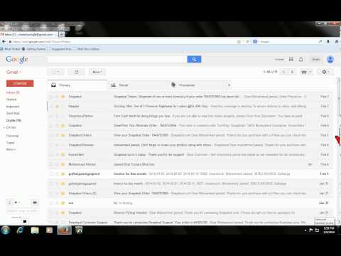 Gmail shortcut keys : How to select and delete mail