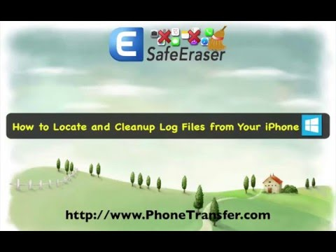 How to Locate and Cleanup Log Files from Your iPhone 6S/6 Plus/6/5S/5C/5/4S/4/3GS