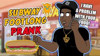 Subway Footlong Prank (ft. Tyrone) - Ownage Pranks