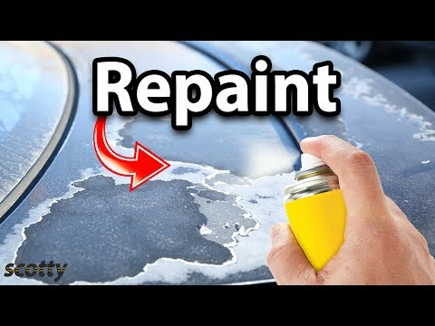 How to Repaint Faded Car Paint