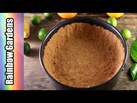 Hazelnut Graham Cracker Crust for Pies & Cheesecake - Recipe / How to Make