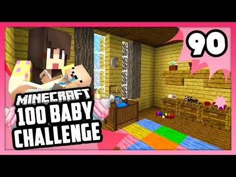 THE BABY ROOM! - Minecraft: 100 Baby Challenge - EP 90