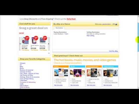 (Internet Marketing Training) *How TO Bid On Ebay*