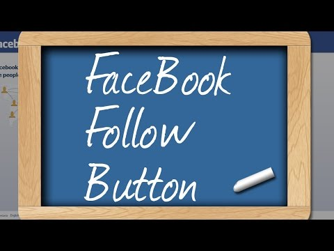How To Activate Facebook Follow Button On Your Facebook Profile - Facebook Guide