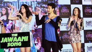 Download Tiger Shroff, Ananya And Tara LIVE DANCE On The Jawaani Song | Student Of The Year 2 Video