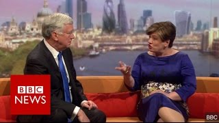 Emily Thornberry nearly drops the