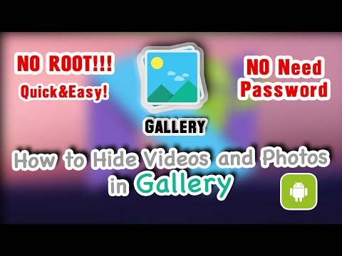 How to hide videos and photos from Gallery - Android tips&tricks 2017