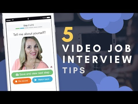 How To Prepare For A Digital Job Interview - Top 5 Digital Interview Techniques