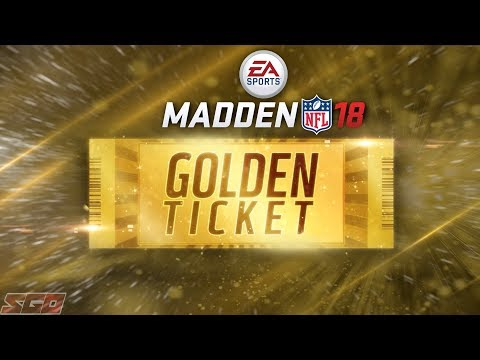 Madden 18 Ultimate Team GOLDEN TICKET Bundle Opening!