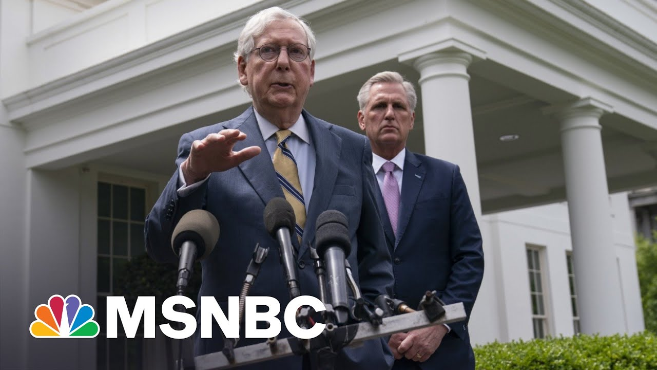 Chris Matthews: 'They're Not Leaders,' GOP's Scared Of Trump