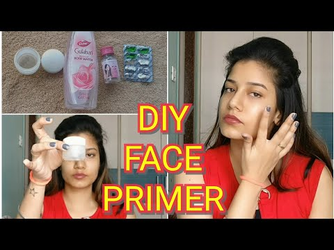 DIY Face Primer for Oily & Dry Skin | Just 2 Ingredients | Simple & Easy | MakeupLoverSejal