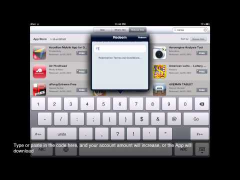 How To Redeem iTunes Gift Cards Or App Promo Codes On iPad
