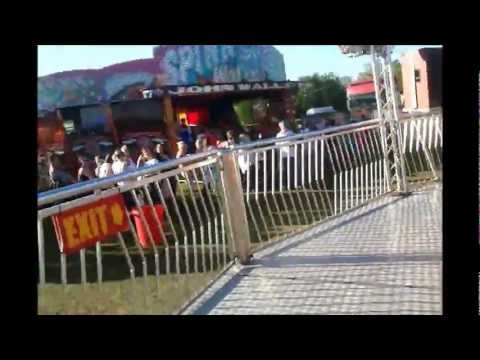 What its like to be on the twister at Blackpool comes to Liverpool fair