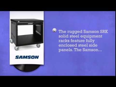 Samson SRK8 8-Space Universal Rack Stand - DJkit.com