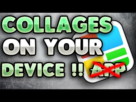 How to make a collage on your device !NO APP