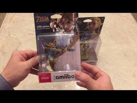 The Legend Of Zelda Breath Of The Wild Amiibos