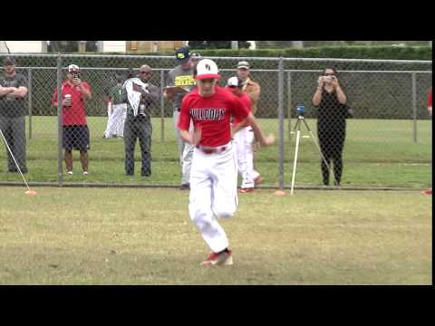 Quin Spalding Sprint Nation Baseball Scout 2016