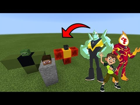 How To Spawn BEN 10 in Minecraft PE